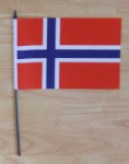 Norway Country Hand Flag - Medium.